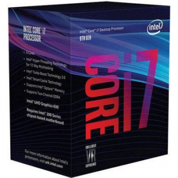 Процессор Intel Core i7-8700 (BX80684I78700) s1151 BOX