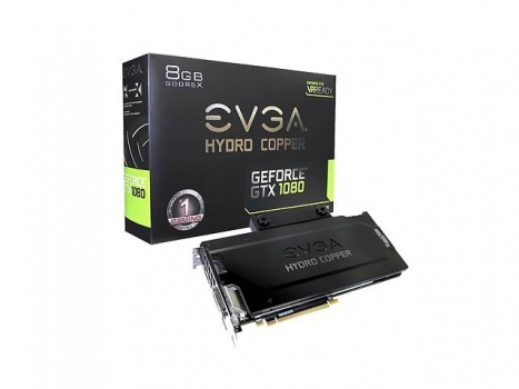 Видеокарта EVGA GeForce GTX 1080 FTW Gaming Hydro Copper (08G-P4-6299-KR)